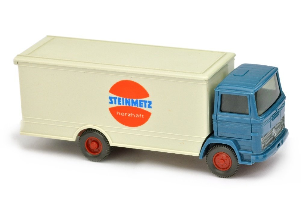 Koffer-LKW MB 1317 Steinmetz (Kabine azurblau)