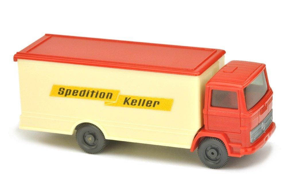 "Koffer-LKW MB 1317 Spedition Keller (mit ""43m"")"