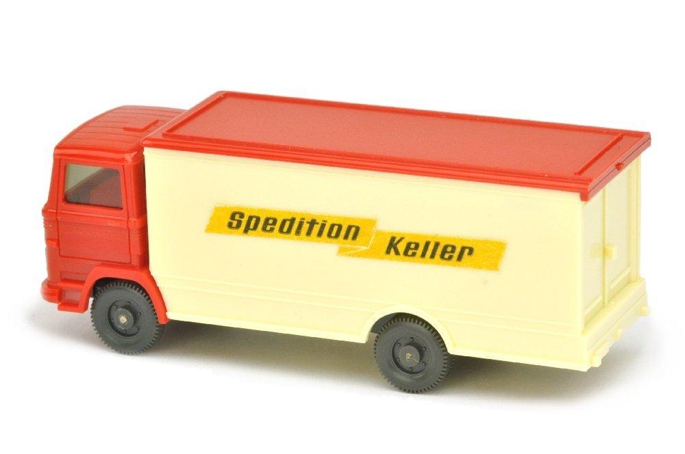 "Koffer-LKW MB 1317 Spedition Keller (mit ""43m"") - 2"