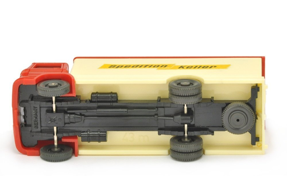 "Koffer-LKW MB 1317 Spedition Keller (mit ""43m"") - 3"