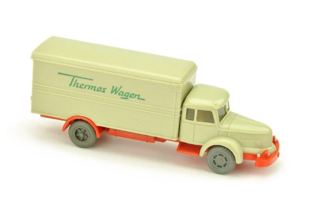 Thermos-Wagen Krupp-Titan, hellgelbgrau