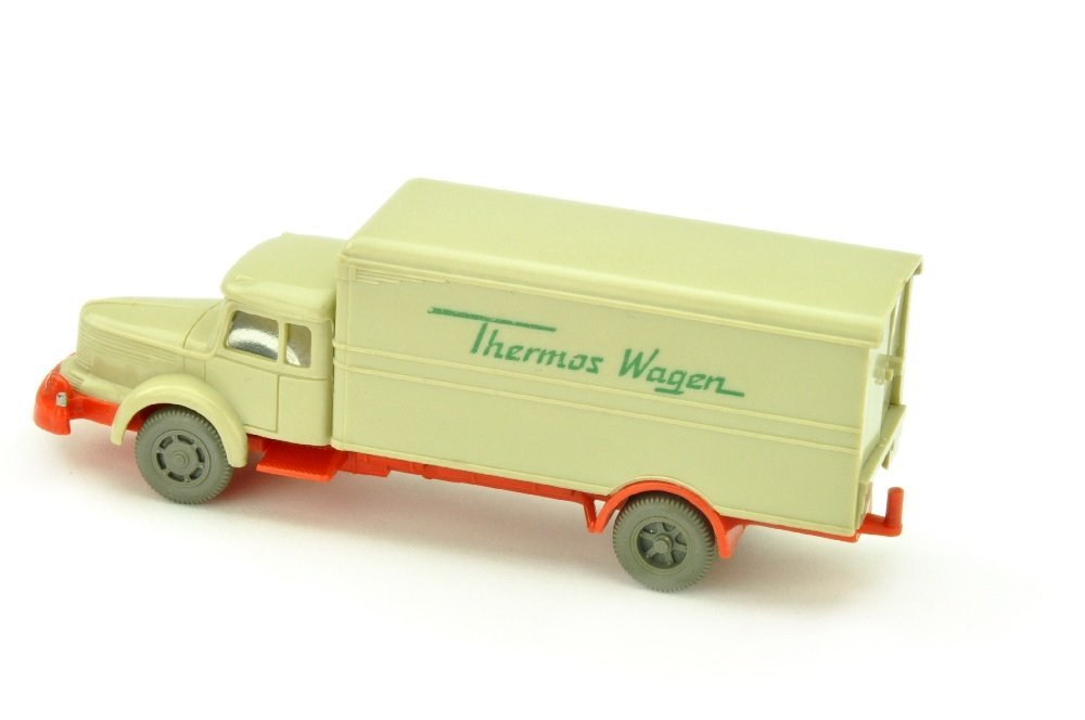 Thermos-Wagen Krupp-Titan, hellgelbgrau - 2