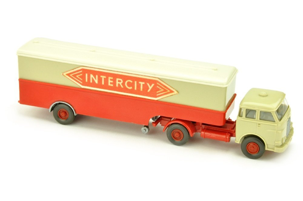 Koffer-Sattelzug MAN 10.230 Intercity