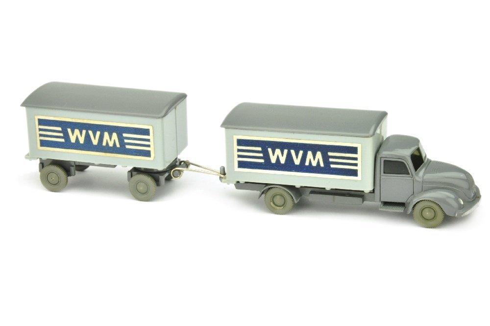 Koffer-Lastzug Magirus WVM