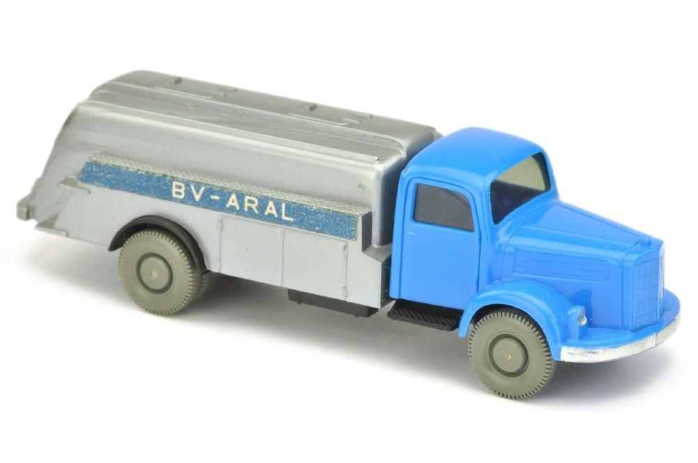 Aral-Tankwagen MB 3500, himmelblau/schwarz