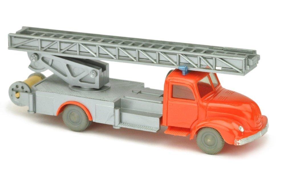 Leiterwagen Magirus, orangerot/silbern