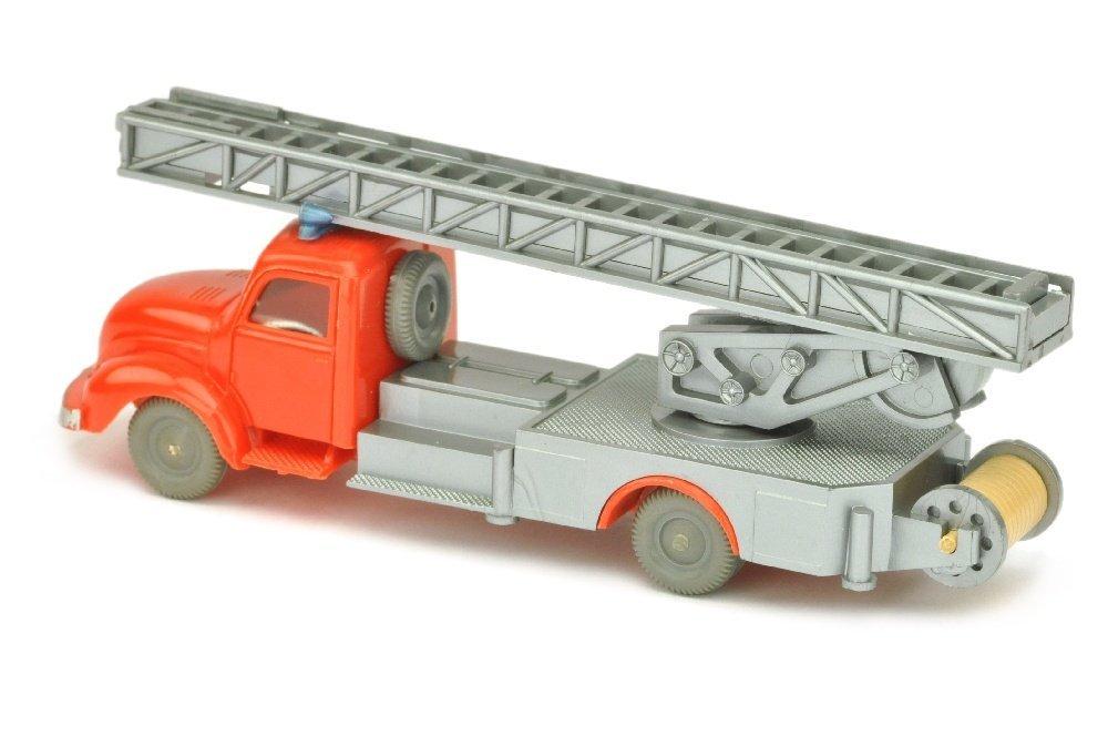 Leiterwagen Magirus, orangerot/silbern - 2
