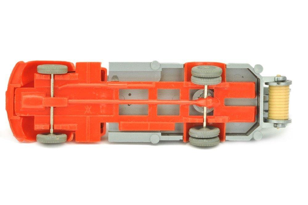 Leiterwagen Magirus, orangerot/silbern - 3