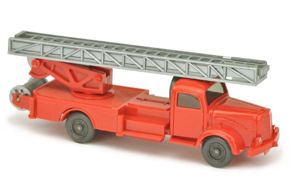 Leiterwagen MB 5000, rot (ein Blaulicht)