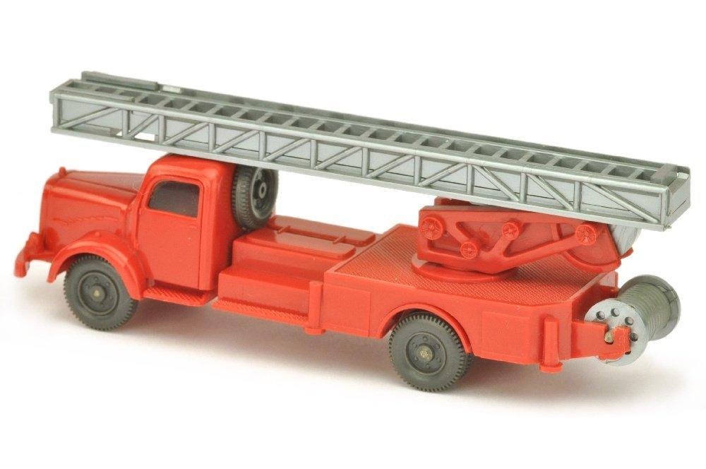 Leiterwagen MB 5000, rot (ein Blaulicht) - 2