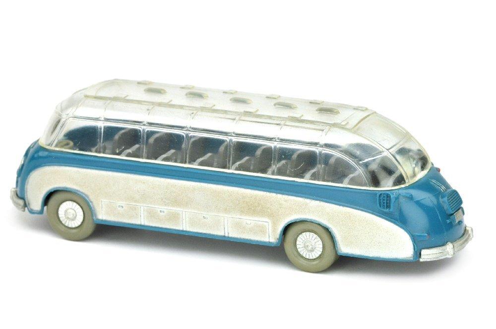 Setra-Bus, azurblau - 2