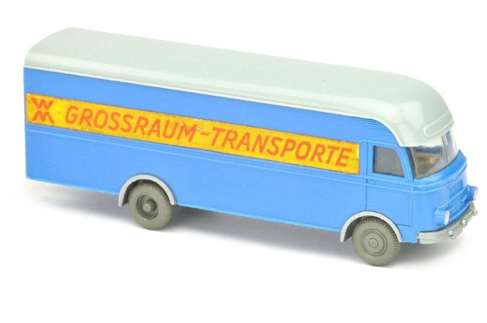 MB 312 Grossraum-Transporte, himmelblau
