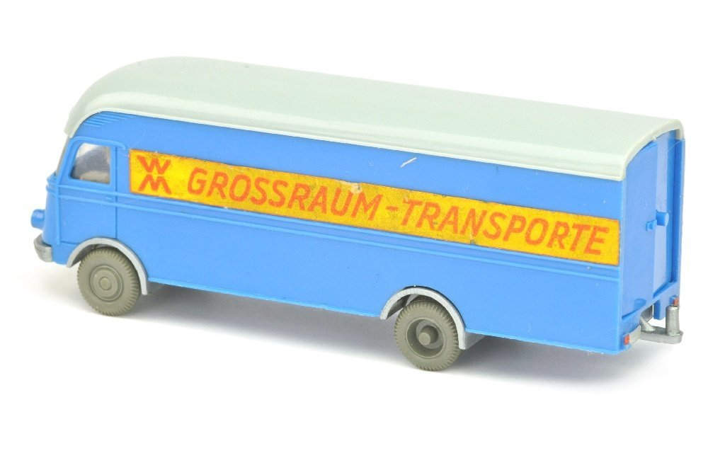 MB 312 Grossraum-Transporte, himmelblau - 2