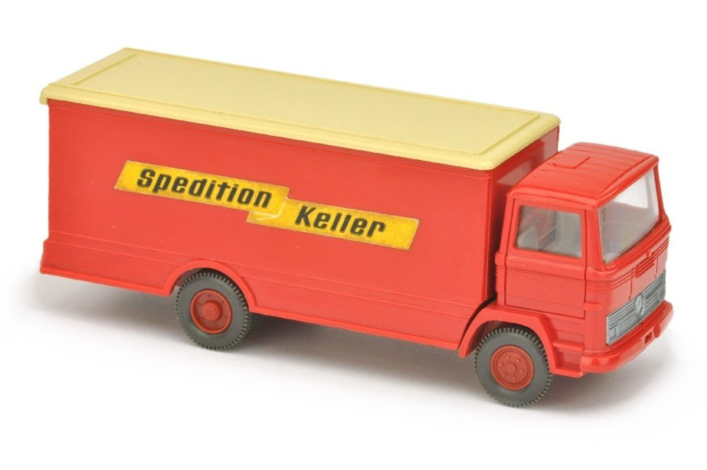 Koffer-LKW MB 1317 Spedition Keller
