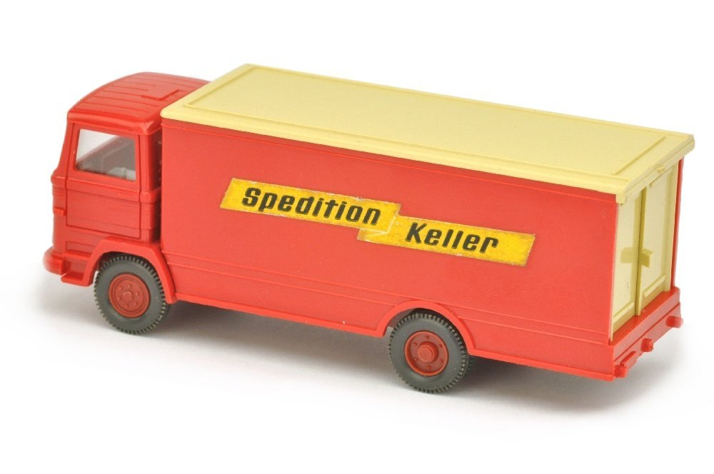 Koffer-LKW MB 1317 Spedition Keller - 2