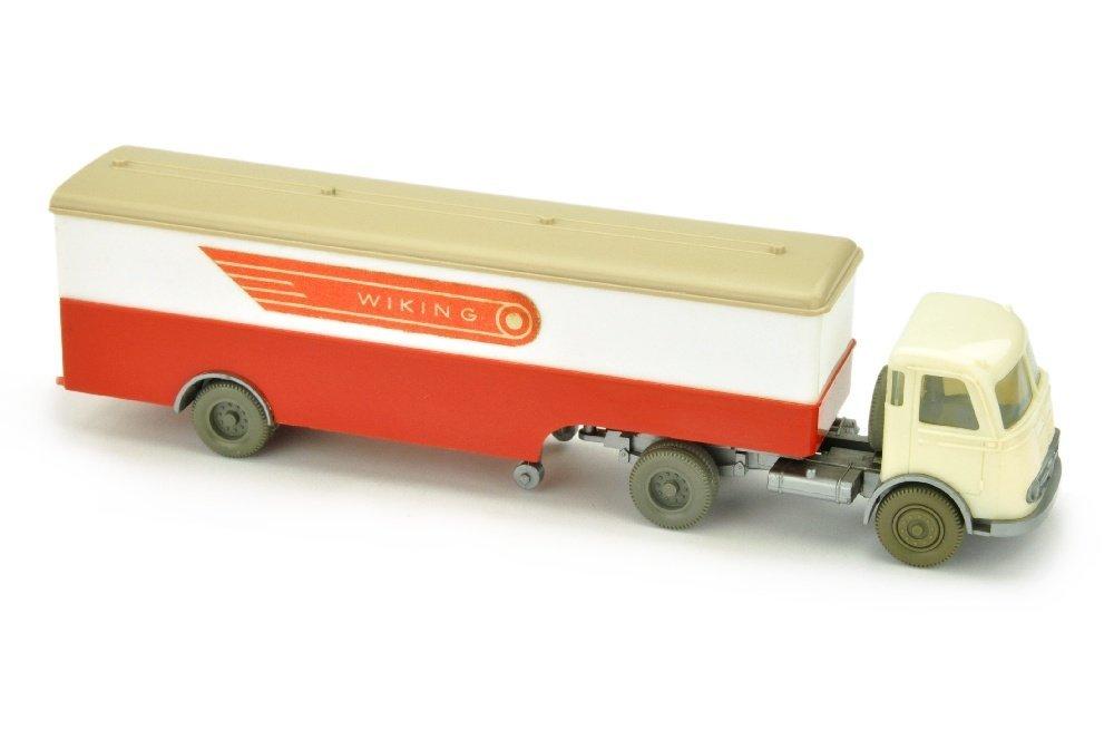 Koffer-Sattelzug Pullman Wiking