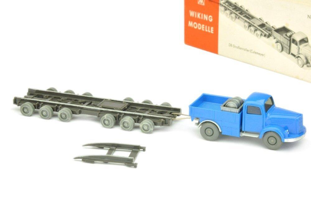 Strassenroller MB 3500, himmelblau/silbergr. (Ork)