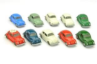 Konvolut 10 VW Kaefer (Typ 6) der 60er/70er Jahre