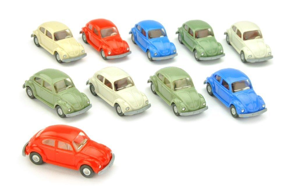 Konvolut 10 VW Kaefer (Typ 7) der 70er Jahre