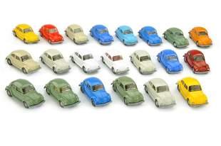 Konvolut 21 VW Kaefer (Typ 7) der 70er/80er Jahre