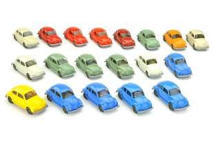 Konvolut 19 VW Kaefer (Typ 7) der 70er/80er Jahre