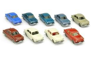 Konvolut 9 VW 1500 Stufenheck der 60er Jahre