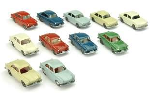 Konvolut 11 VW 1600 Stufenheck der 70er Jahre
