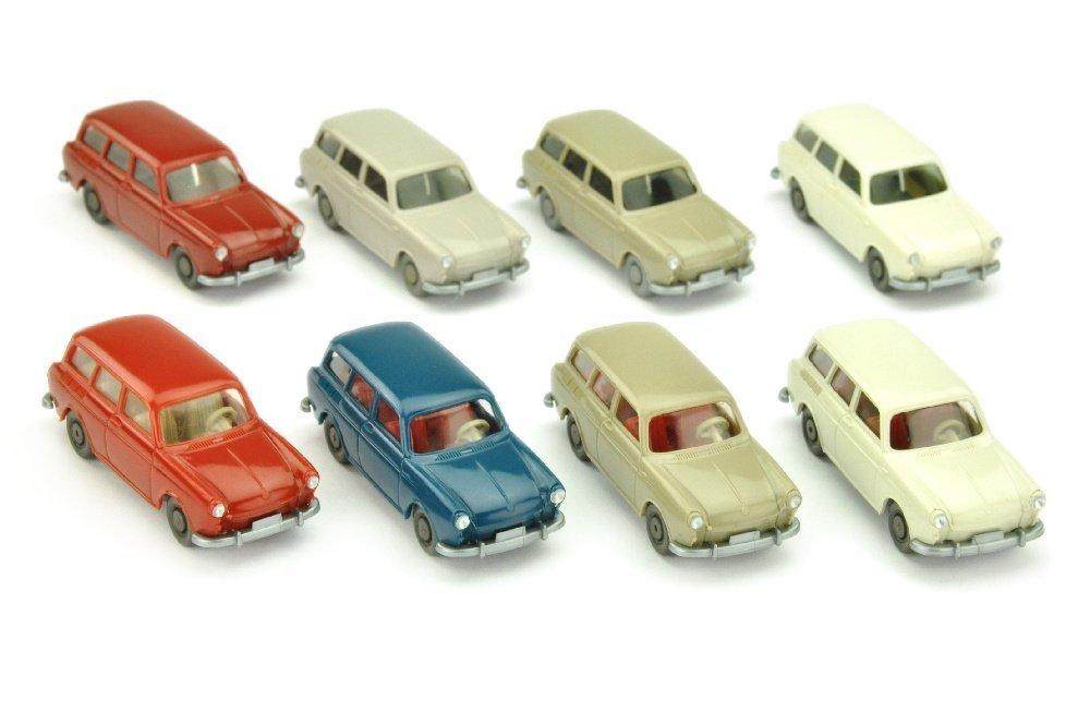 Konvolut 8 VW 1500 Variant der 60er Jahre