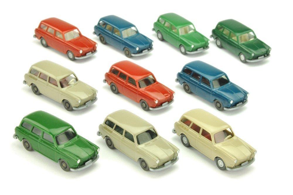 Konvolut 10 VW 1600 Variant der 70er Jahre