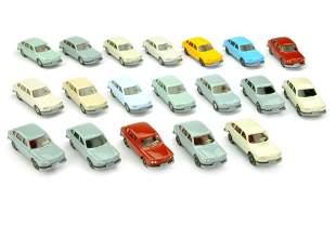 Konvolut 19 VW 411 der 60er/70er Jahre