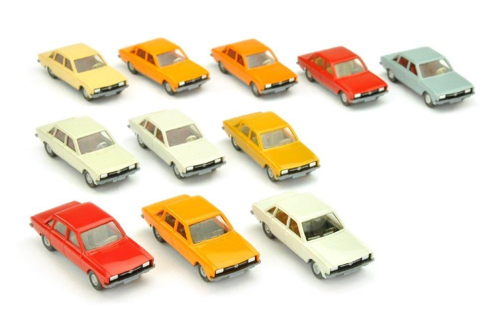 Konvolut 11 VW K 70 der 70er Jahre