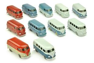 Konvolut 11 VW T1 der 60er Jahre
