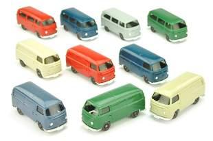 Konvolut 10 VW T2 der 70er Jahre