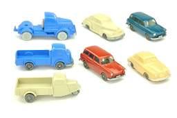 Konvolut 7 Modelle der 50er70er Jahre