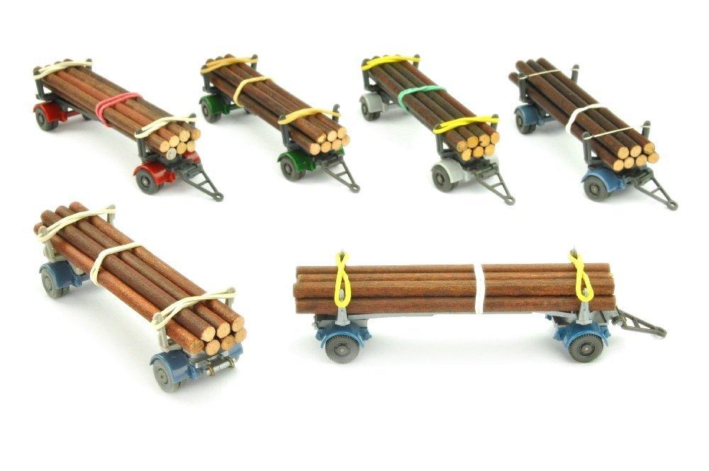 Konvolut 6 Langholzanhaenger (Typ 2)