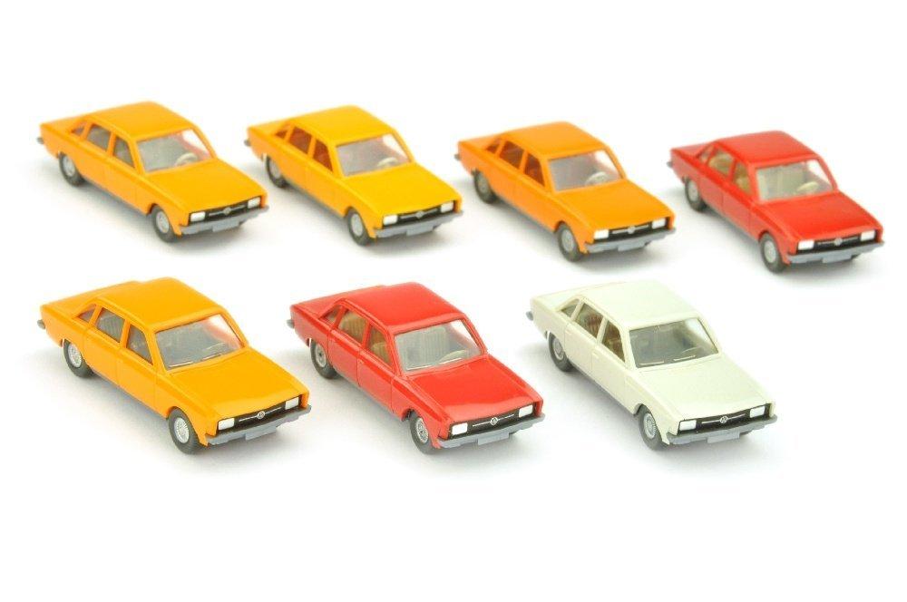 Konvolut 7 VW K 70 der 70er Jahre