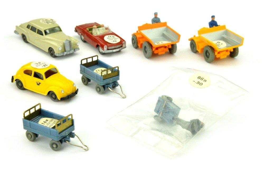 Konvolut 8 Modelle der 60er Jahre (mit OPS)