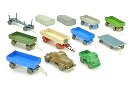Konvolut 10 Modelle der 50er60er Jahre