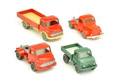 Konvolut 4 Modelle der 60er70er Jahre