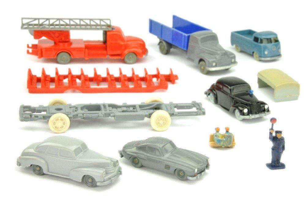 Konvolut ca. 6 Modelle der 50er/60er Jahre