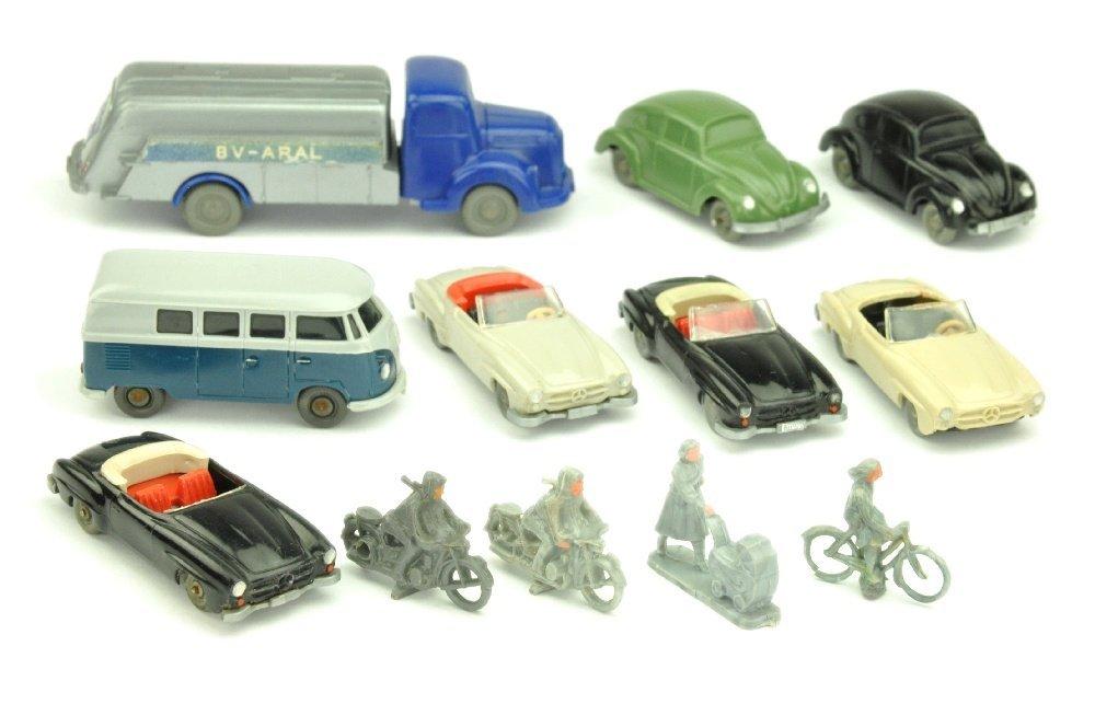 Konvolut 12 Modelle der 50er/60er Jahre