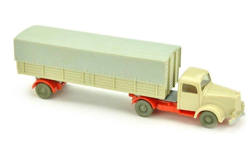 Pr.-Sattelzug MB 5000, hellgelbgrau/orangerot