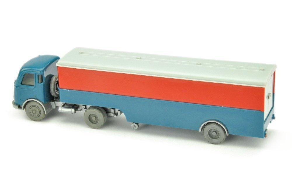 Koffer-Sattelzug Pullman unbeschriftet - 2