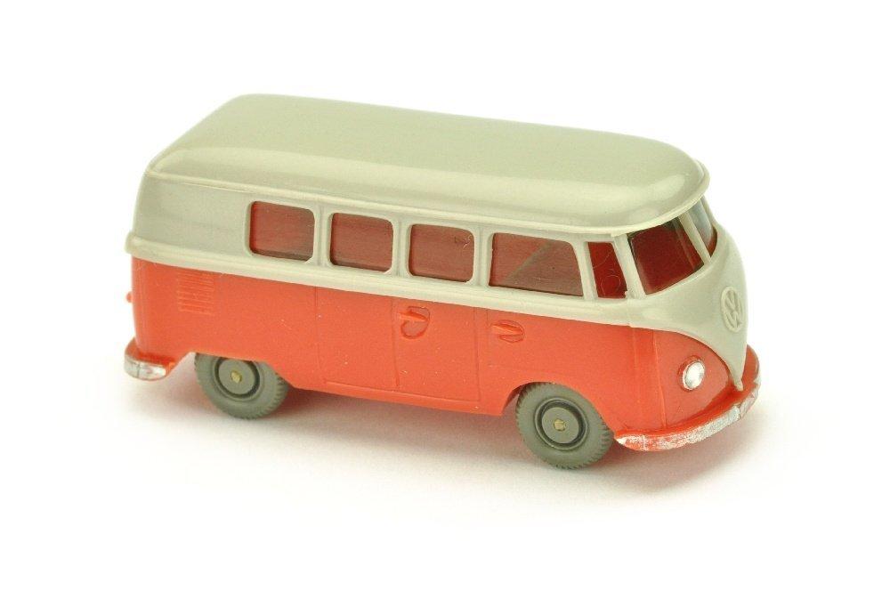 VW T1 Bus (alt), d'-achatgrau/rose