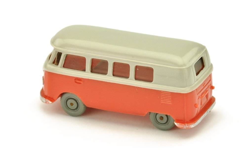 VW T1 Bus (alt), d'-achatgrau/rose - 2