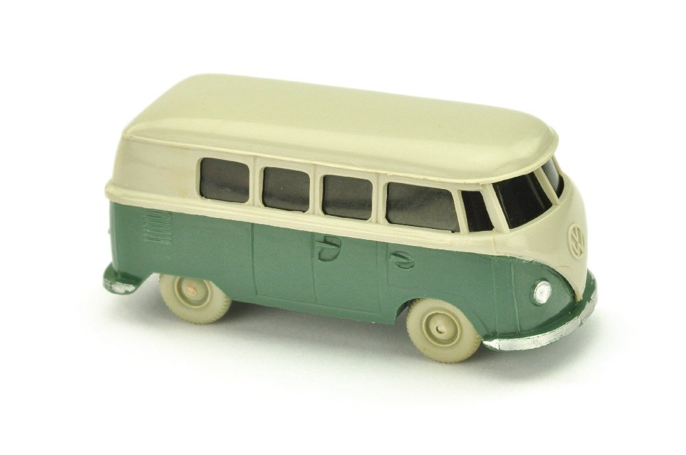 VW T1 Bus (alt), kieselgrau/graugruen
