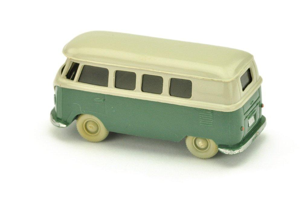 VW T1 Bus (alt), kieselgrau/graugruen - 2