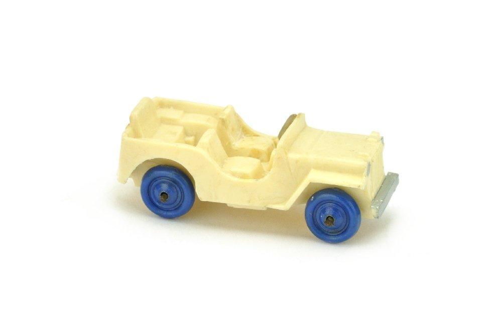 Jeep (Typ 2), cremeweiss (Raeder blau)