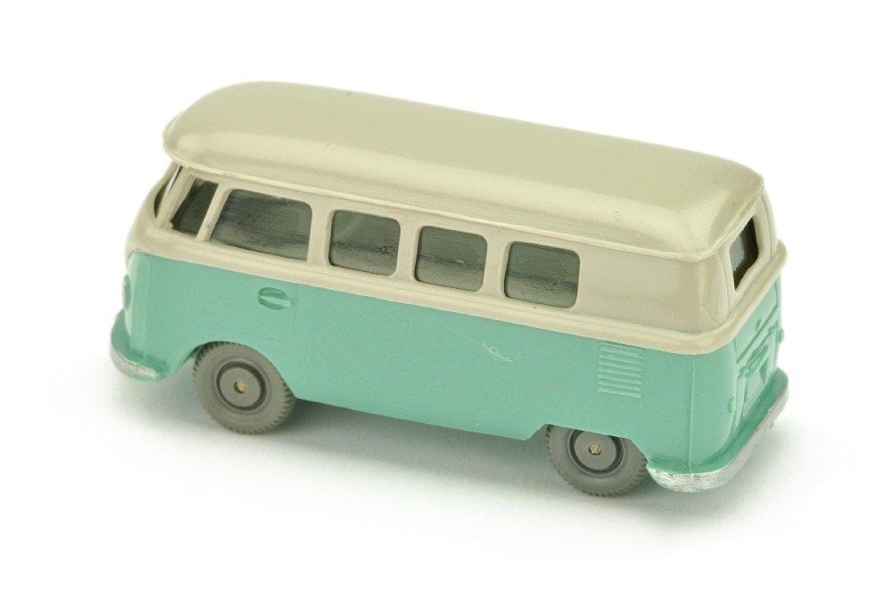 VW T1 Bus (alt), d'-achatgrau/tuerkis - 2