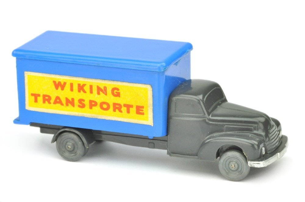 Koffer-LKW Ford, anthrazit/himmelblau